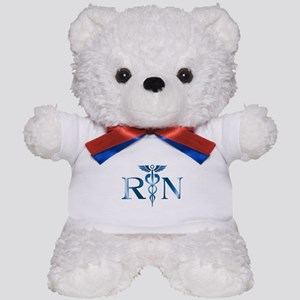 RN Nurse Caduceus Teddy Bear