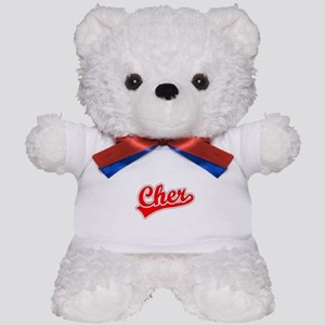 Retro Cher (Red) Teddy Bear
