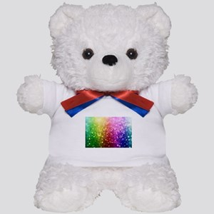 Vibrant Colors Colorful Modern Bokeh Gl Teddy Bear