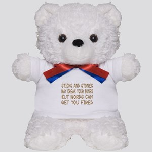 Sticks And Stones Teddy Bear