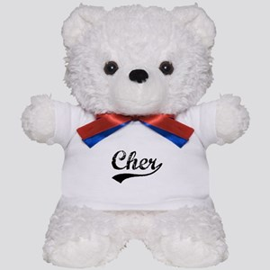 Vintage Cher (Black) Teddy Bear