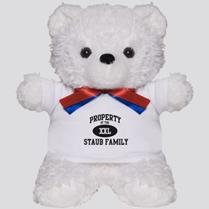Property of Staub Family Teddy Bear