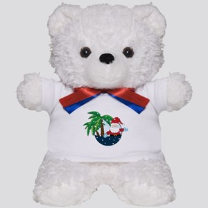 Christmas In Paradise Teddy Bear