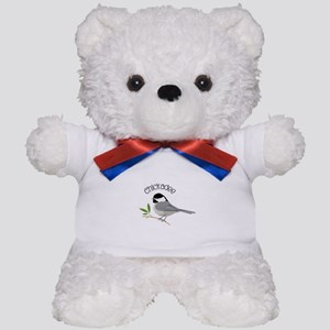 Chickadee Teddy Bear