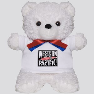 Feather River Route train logo Teddy Bear