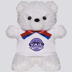 Vail Purple Teddy Bear