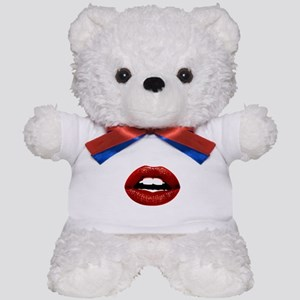 Red Lips Teddy Bear