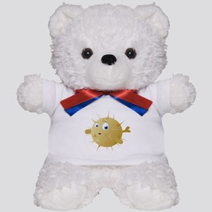Cartoon Puffer Fish Teddy Bear
