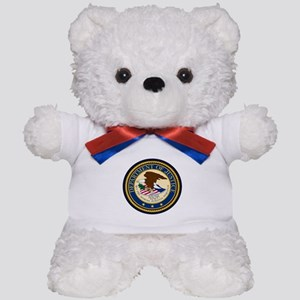 GOVERNMENR SEAL - DEPARTMENT OF JUSTICE Teddy Bear