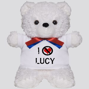 I Hate LUCY Teddy Bear