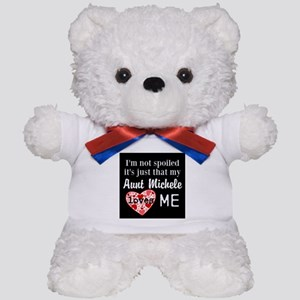 Personalize not spoiled just loved Teddy Bear