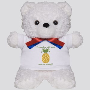 PERSONALIZED Pineapple Teddy Bear