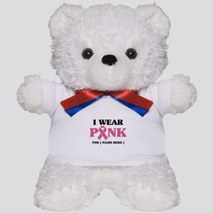 Breast Cancer Cause Teddy Bear