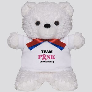 Pink Ribbon Awareness Team Teddy Bear