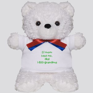 If Mom says no...(green) Teddy Bear