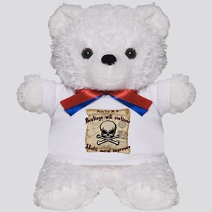 Pirates Law #8 Teddy Bear