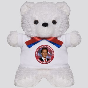 Arnold Schwarzenegger for President Teddy Bear