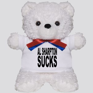 Al Sharpton Sucks Teddy Bear