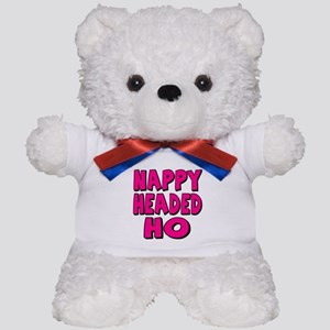 Nappy Headed Ho Pink Design Teddy Bear