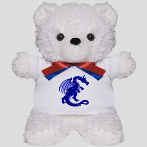 Blue Dragon Teddy Bear