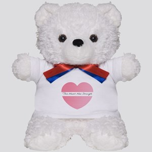 heart strength Teddy Bear