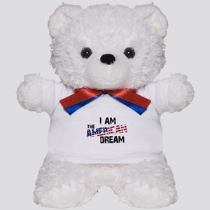 I Am The American Dream Teddy Bear