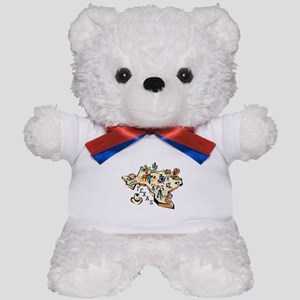 Texas Map Teddy Bear
