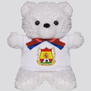 Spainish Soccer Teddy Bear