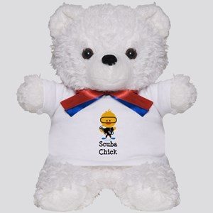 Scuba Chick Teddy Bear