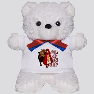 Who's Afraid of the Big Bad Wolf Teddy Bear