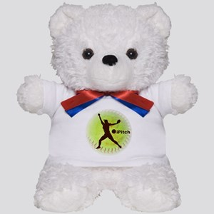 iPitch Fastpitch Softball Teddy Bear