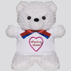 Will You Be My Valentine? Teddy Bear