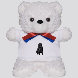 SharPei (blk) Teddy Bear