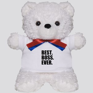 Best Boss Ever Teddy Bear