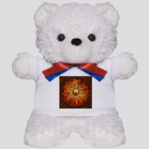 Harvest Moons Marquetry Sunburst Teddy Bear