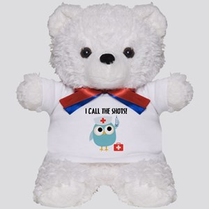 Owl Nurse Teddy Bear
