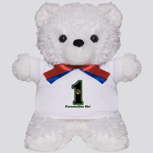 Customized Lucky Golf Hole in One Teddy Bear