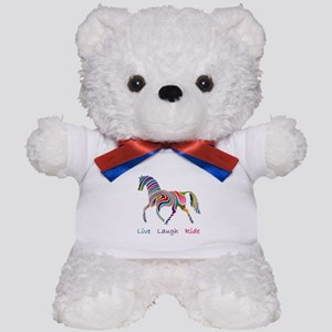 Rainbow horse gift Teddy Bear
