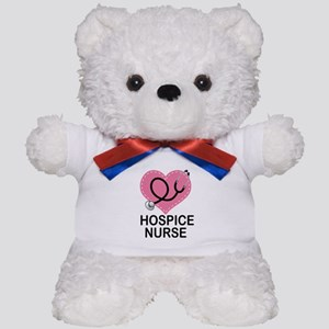 Hospice Nurse Heart Teddy Bear