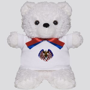 American Eagle Flag Teddy Bear