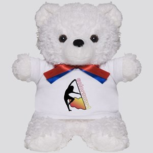 Colorguard Flag Teddy Bear