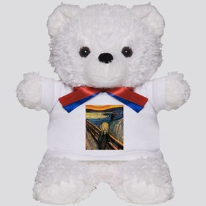 The Scream Teddy Bear
