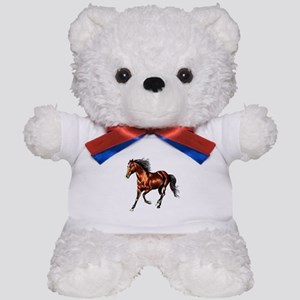 Cantering Bay Horse Teddy Bear