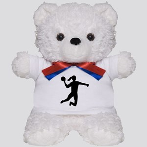 Womens handball Teddy Bear