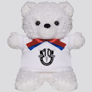 10th Special Forces - DUI - No Txt Teddy Bear