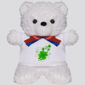 Clovers and Swirls Teddy Bear