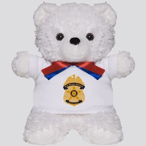 XXX Secret Service Badge Teddy Bear