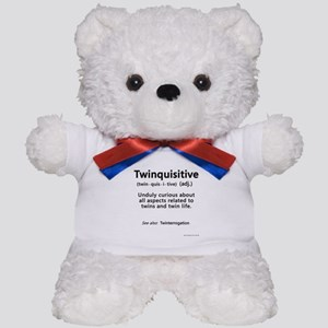 Twin Definitions - Twinquisitive Teddy Bear