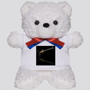 Black Beauty Electric Guitar Teddy Bear