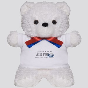 Proud Air Force Brat (Blue) Teddy Bear